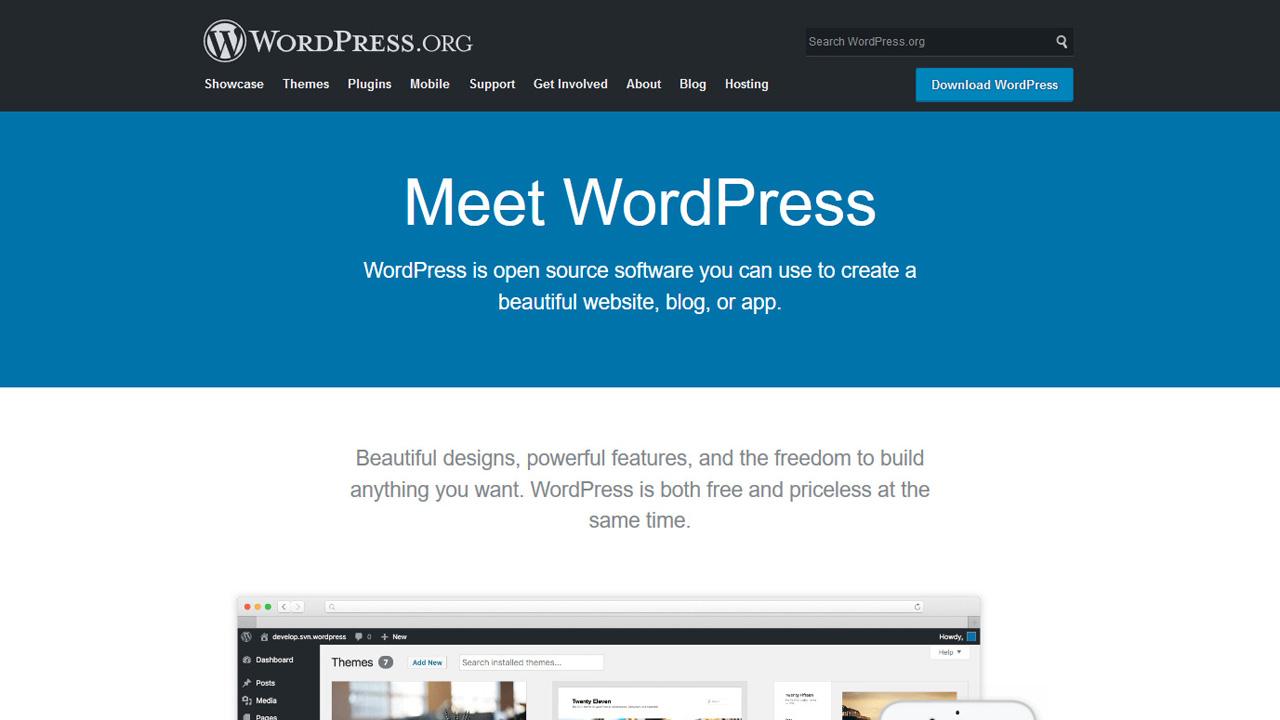 WordPressをデザインします